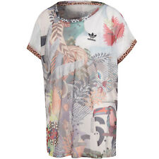 adidas Originals Boxy Tee Netzshirt Damen-Netz-Top Oberteil The Farm Company NEU