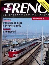 Tutto Treno 36 1991 con inserto Locomotive gruppo E 432 Trifase