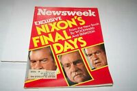 APRIL 5 1976 NEWSWEEK magazine NIXON FINAL DAYS