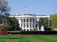 POSTER WASHINGTON DC USA CASA BIANCA WHITE HOUSE AMERICA PHOTO WALLPAPER FOTO 1