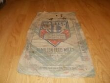 Vtg Master Mix Laying Mash Concentrate McMillen Mills sack