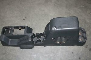 03-06 WRANGLER Dark Gray Floor Center Console Armrest Subwoofer Cupholder Trim