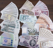 100 Pcs Banknotes 10 Different World Paper Money UNC Collection Gift