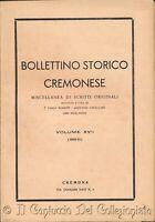 Bollettino storico cremonese Osservazioni Statuti cremonesi del 1339 Cremona