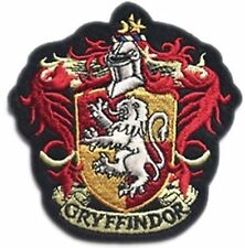 "Gryffindor House Crest  Hogwart 4"" Sew Ironed On Embroidery Applique Patch"