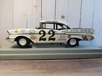 ERTL American Muscle 1957 Chevy Bel Air Fireball Roberts 1:18 Diecast Race Car
