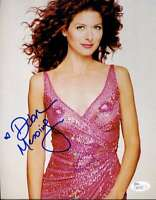 Debra Messing Jsa Coa Hand Signed 8x10 Photo Authenticated Autograph