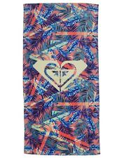Roxy Girl Pretty Simple Velour Beach Towel One Size Multicolor Pattern Rectangle