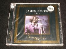JAMES BROWN LIVE<>FOREVER GOLD<>Canada, Brand New CD ~ ST-CLAIR FGD 58202