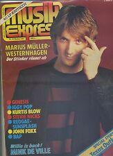 Musik Express Musikzeitschrift 1981 Nr. 10 Genesis Marius Müller-Westernhagen