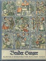 BRUDER SINGER - Klavier - gebunden