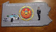 PENNSYLVANIA STATE POLICE TROOP C PUNXSUTAWNEY HEADQUARTERS STATE TROOPER