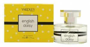 YARDLEY ENGLISH DAISY EAU DE TOILETTE EDT 50ML SPRAY - WOMEN'S FOR HER. NEW