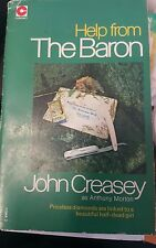 Help from the Baron by John Creasey as Anthony Morton Paperback, 1975 0340129492
