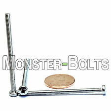 3mm x 0.50 x 50mm – Qty 10 – Stainless Steel Phillips pan head Machine Screws M3