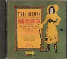 CD COMEDIE MUSICALE BROADWAY 12 TITRES--ANNIE GET YOUR GUN--MERMAN/BERLIN