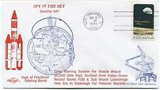 1970 Spy In The Sky Satellite 647 Warning System for Missile Attack Indian Ocean