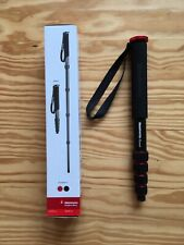 Manfrotto Element 5-Section Aluminum Monopod, Red #Mmelea5Rd condition Mint