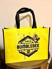 Transformers BumbleBee Movie Large Reusable Tote Bag Yellow & Black Brand New
