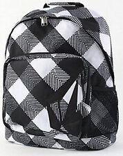 WOMEN'S GIRLS VOLCOM CORN FUSION BACKPACK BLACK/WHITE SCHOOL BAG NEW $55