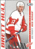 2003-04 Pacific Heads Up Hockey Card #36 Brett Hull - Detroit Red Wings