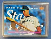 1995 Upper Deck #215 Alex Rodriguez Star Rookie Seattle Mariners New York Yankee