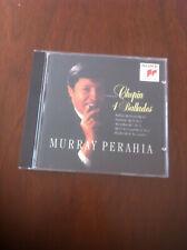 Chopin: 4 Ballades  Murray Perahia (piano)