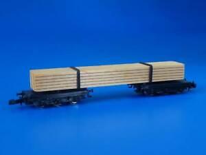MARKLIN Z - 8619 - Lumber Carrier / LN