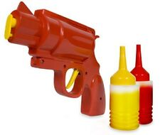 Condiment Gun for Ketchup Mustard Bbq or Sauce Novelty Condiment Dispenser Gift!