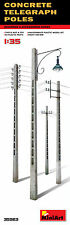 MiniArt 1/35 35563 Concrete Telegraph Poles (Buildings & Accessories)
