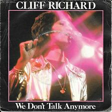 """45 TOURS / 7"""" SINGLE--CLIFF RICHARD--WE DON'T TALK ANYMORE / COUNT ME OUT--1979"""
