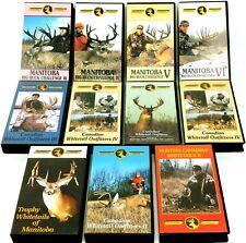 11 Manitoba Canada Deer Hunting Videos Whitetail Mule Deer Vintage Hunts