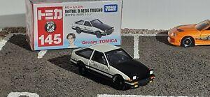 1/61 INITIAL D  TOYOTA AE86 TRUENO Corolla Drift Film tomy Takara    1/60 ~ 1/64