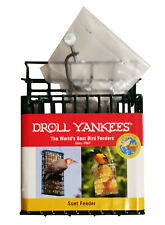 Droll Yankee Single Suet Feeder with Pole Mount
