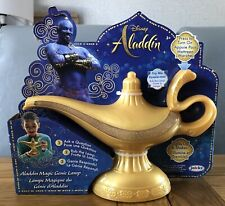 Disney Aladdin Magic Genie Lamp With Lights and Sound Effects Talking Brand New