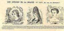 PARIS RUE DE PROVENCE LA CREME SIMON PUBLICITE 1880