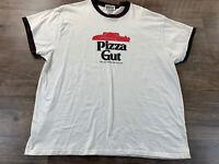 Pizza Gut T-shirt XL White Funny Parody