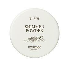 SKINFOOD [Skin Food] Rice Shimmer Powder (80.Pearl White)  23g free gift