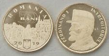 Rumänien / Romania 50 Bani 2019 Ferdinand I. unz.