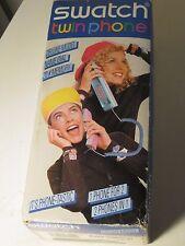 vintage swatch Black Domino III TXB 101 Twin phone Deluxe Model NEW IN BOX