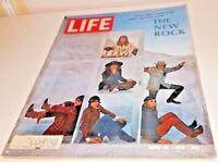 June 28, 1968 LIFE Magazine. ROCK MUSIC. 60s advertising FREE SHIPPING 6 27 29