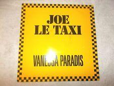 Vinyl 12 inch Record Single Vanessa Paradis Joe Le Taxi 1987