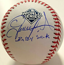 "Washington Nationals Gerardo Parra Signed 'Baby Shark"" Baseball - Beckett BAS"