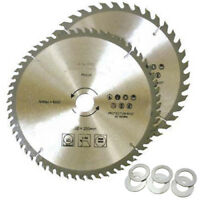"250mm Circular Saw Blades 10"" 40T & 60T TCT Saw Disc Blades 30 mm bore"