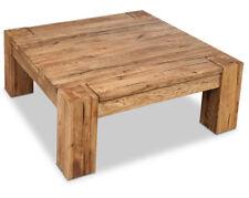 Couchtisch Eichentisch 85x85 Hartholz Holz Wildeiche Tisch geölt Massiv