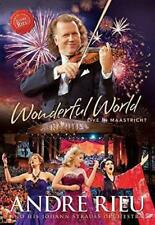Andre Rieu - Wonderful World - Live Maastricht  ** NEW DVD **  Region 0 NTSC