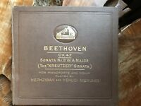 His Masters Voice, Beethoven  OP.47 Sonata No9 In A Major Kreutzer Menuhin