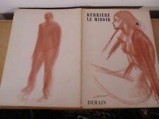 Derrière Le Miroir Revue Art Moderne XX André DERAIN n° 94- 95 Maeght Edition