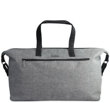NEW Hugo Boss Mens Grey Weekend Holdall Duffel Sports School Gym Travel Bag