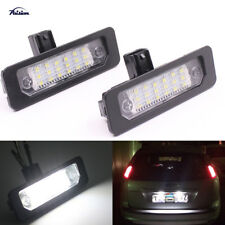 2Pcs Car LED Number License Plate Light for Ford Mustang 2010-2014